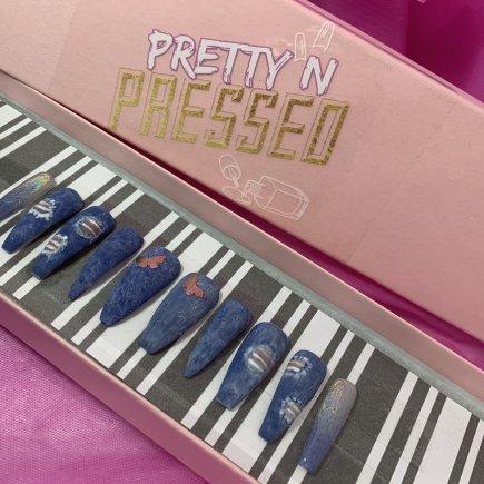 "Bratz Series: Sasha ""Bunny Boo"" - Pretty and Pressed Nails"