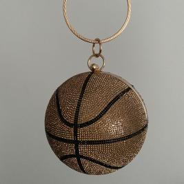 basketball bag brown