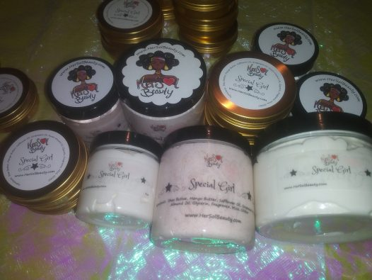 Special girl body butter