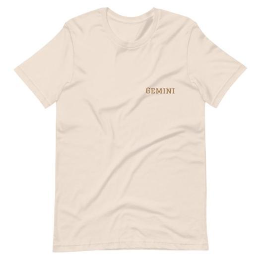 Gemini Short-Sleeve Unisex T-Shirt