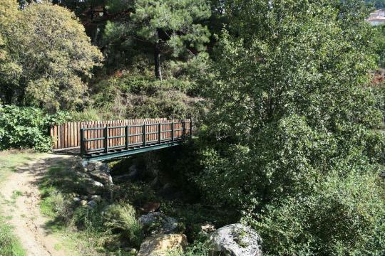 Puente de palo