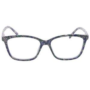 KCASA Camellia Kleur Cat Eye Patroon Mode Leesbril Hars