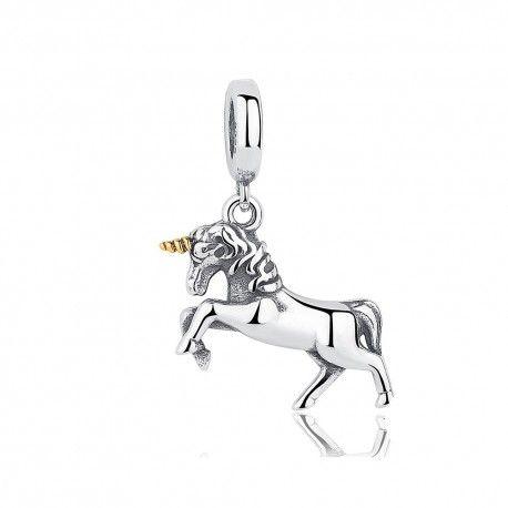 charm pandora unicorno originale