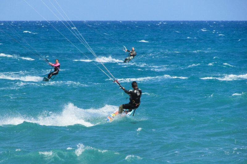 Barra Grande aan het strand kitesurfen