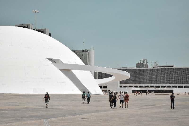 Brasilia-Nationaal museum Brasilia-Museu Nacional