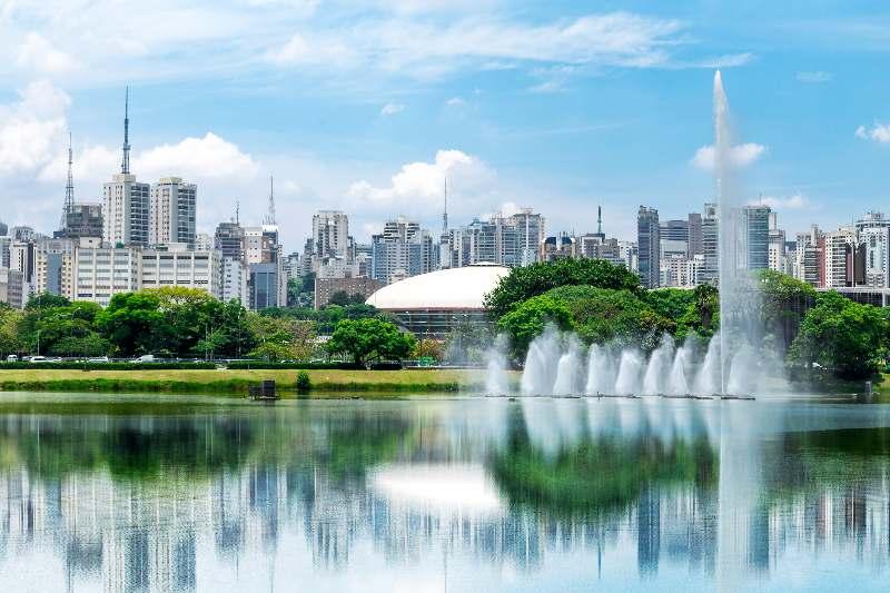 Skyline van São Paulo
