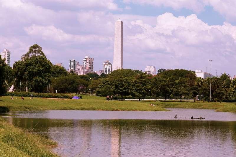 São Paulo-Parque Ibirapuera in São Paulo