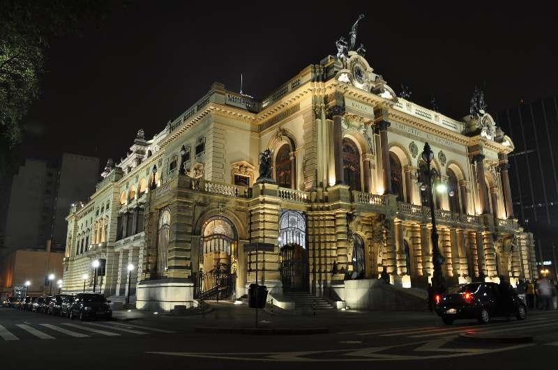 São Paulo-Theatro Municipal de São Paulo