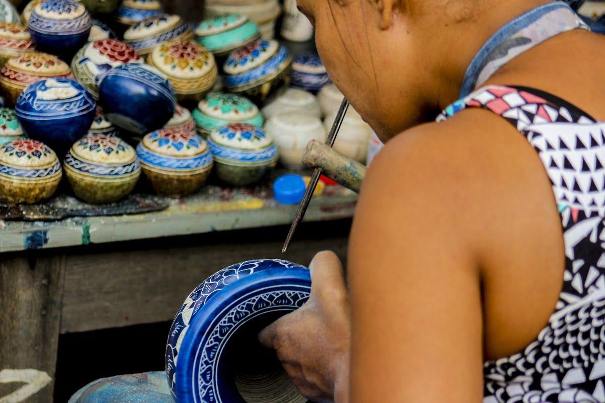 Ouro Preto-Handwerk-Marktjes