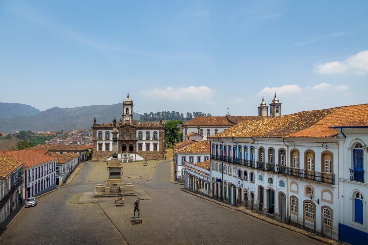 Ouro Preto Praça Tiradentes