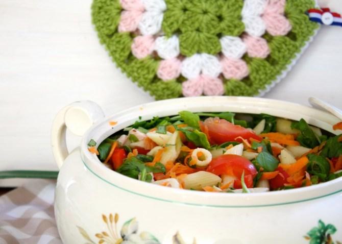 pastasalade met raapstelen