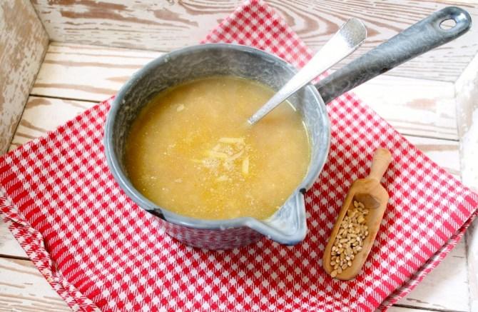 Alkmaarse kaassoep met gort