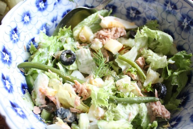 weekend maaltijdsalade