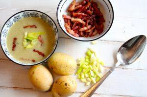 aardappel-room soep