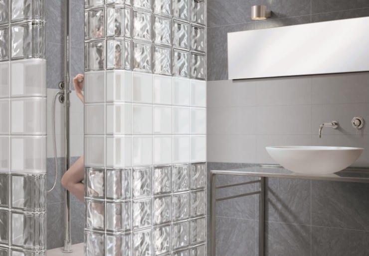 Glasblokken Plaatsen  Glazen Bouwstenen Badkamer