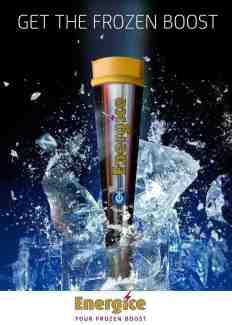 Energice het ijsje dat energie geeft