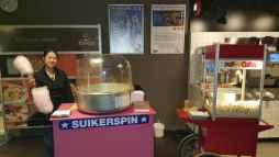 suikerspin en popcorn callcenter webhelp