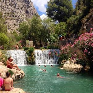 Guadalest Algar watervallen