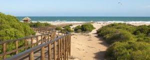 Santa Pola stranden