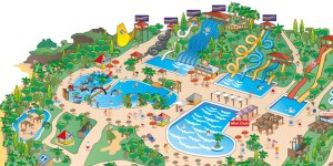Waterparken in Torrevieja Aquopolis plan