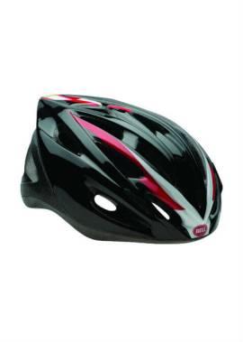 Bell Solar Helm - Inline Skate - Zwart/Rood