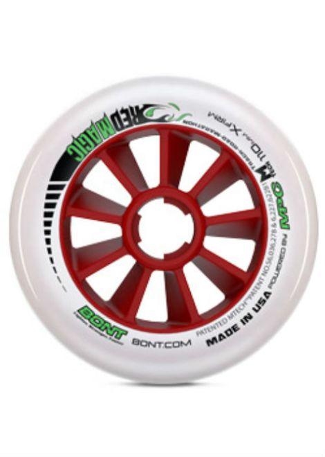 Bont Red Magic Wielen 3 - Inline Skate - 110mm