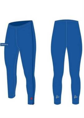 Craft Bike & Skate - Thermo Ritsbroek - Unisex - Kobalt