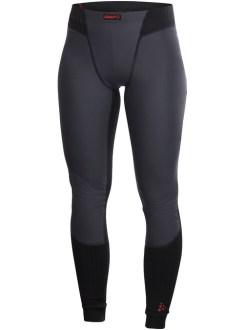 Craft Active Extreme Windstopper Long Underpant Woman Black - Lange Onderbroek Met Windstopper Dames Zwart 1901556_2999