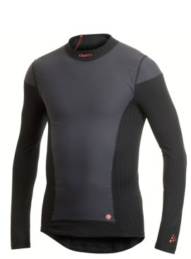 Craft Active Extreme Windstopper Longsleeve Black - Windstopper Lange Mouwen Zwart 194612_2999