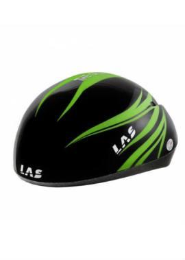 LAS Mistral Ice II - Schaatshelm - Zwart Groen