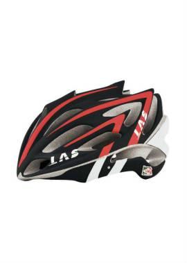 Las Victory Helm - Inline Skate - Zwart/Rood