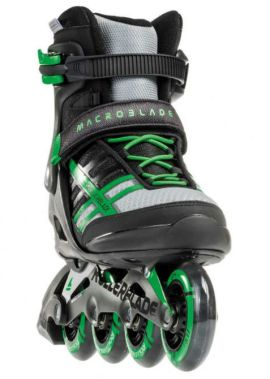 Rollerblade Macroblade 84 ABT zwart groen