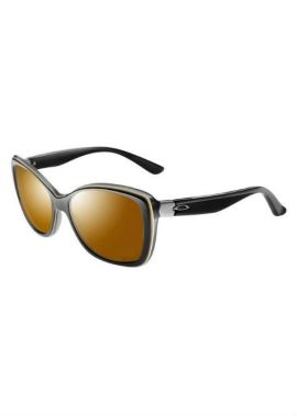 Oakley News Flash - Zonnebril - Dames - Zwart/Bruin