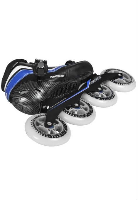 Powerslide R2 - Inline Skate - Zwart/Blauw