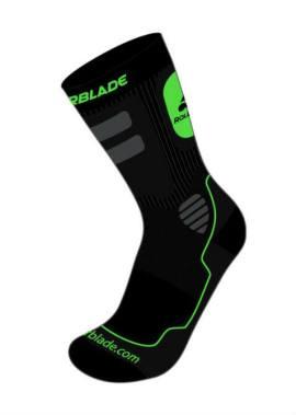 Rollerblade High Performance Socks - Sokken - Groen