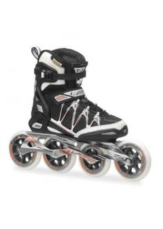 Rollerblade Igniter 100 W Inline Skate Dames Zwart/Roze