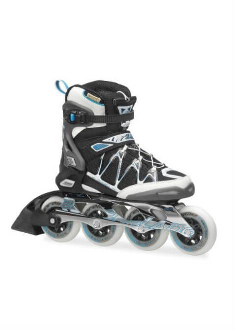 Rollerblade - Igniter 90 W - Inline Skate - Dames - Zwart/Blauw