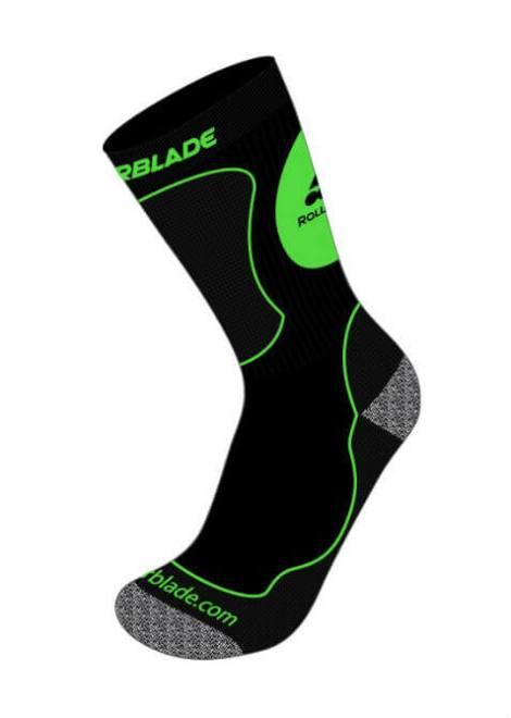 Rollerblade High Performance Socks - Sokken - Groen - Kids