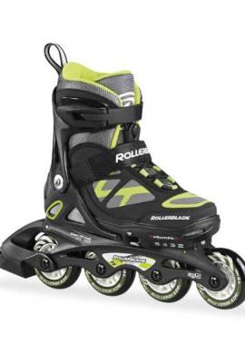 Rollerblade Spitfire TS - Inline Skate - Jongen - Zwart/Groen