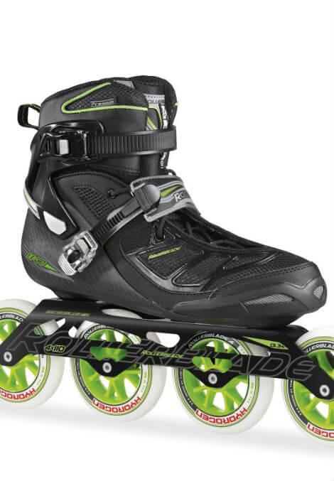 Rollerblade Tempest 110 Inline Skate Zwart/Groen