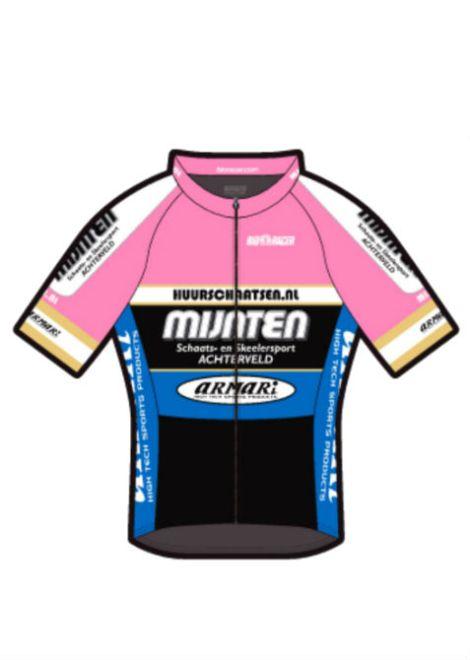 Mijnten fiets shirt roze