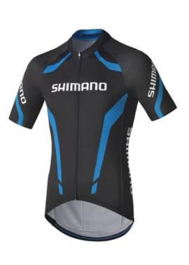 Shimano - Fietsshirt Performance Print - Heren - Zwart/Blauw