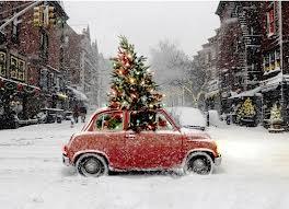kerst onderweg