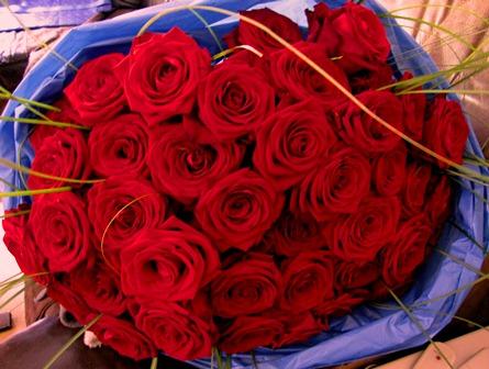 Wie viel kostet ein riesen Strau Rosen Geschenk Kosten