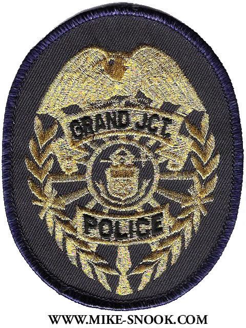 Mike Snooks Police Patch Collection  Colorado  Mesa County