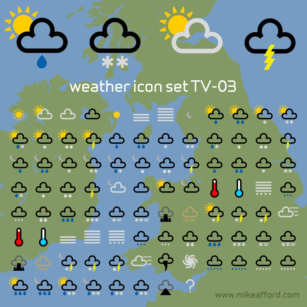 Bbc Weather Graphics