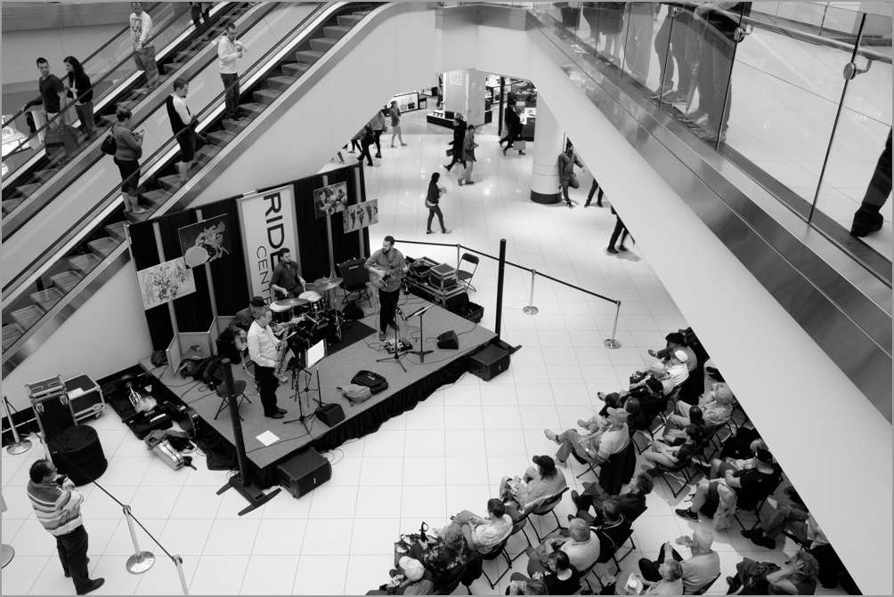 Jazz in the Rideau Centre