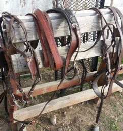 pony harness very nice condition russet pony single breast collared harness used with 12 13 hand ponies 200  [ 2438 x 2067 Pixel ]