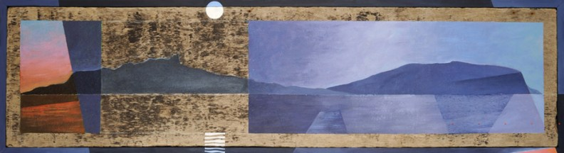 Night Falls on Ardnamurchan (34 by 126cms)