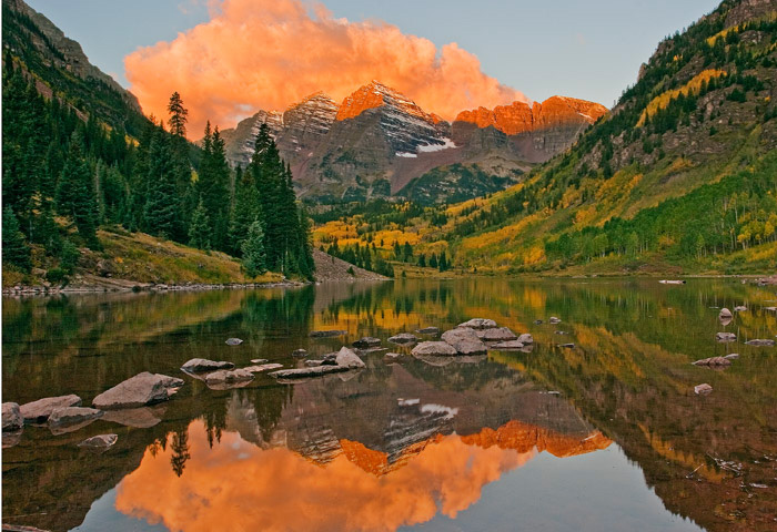 Fall Colorado Wallpaper Another Maroon Bells Autumn Sunrise Maroon Bells Near
